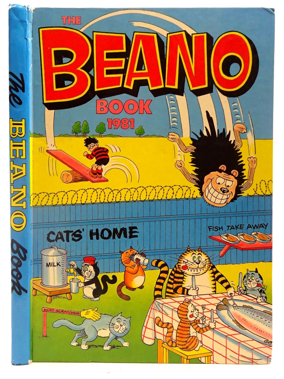 Photo of THE BEANO BOOK 1981 published by D.C. Thomson & Co Ltd. (STOCK CODE: 2127313)  for sale by Stella & Rose's Books