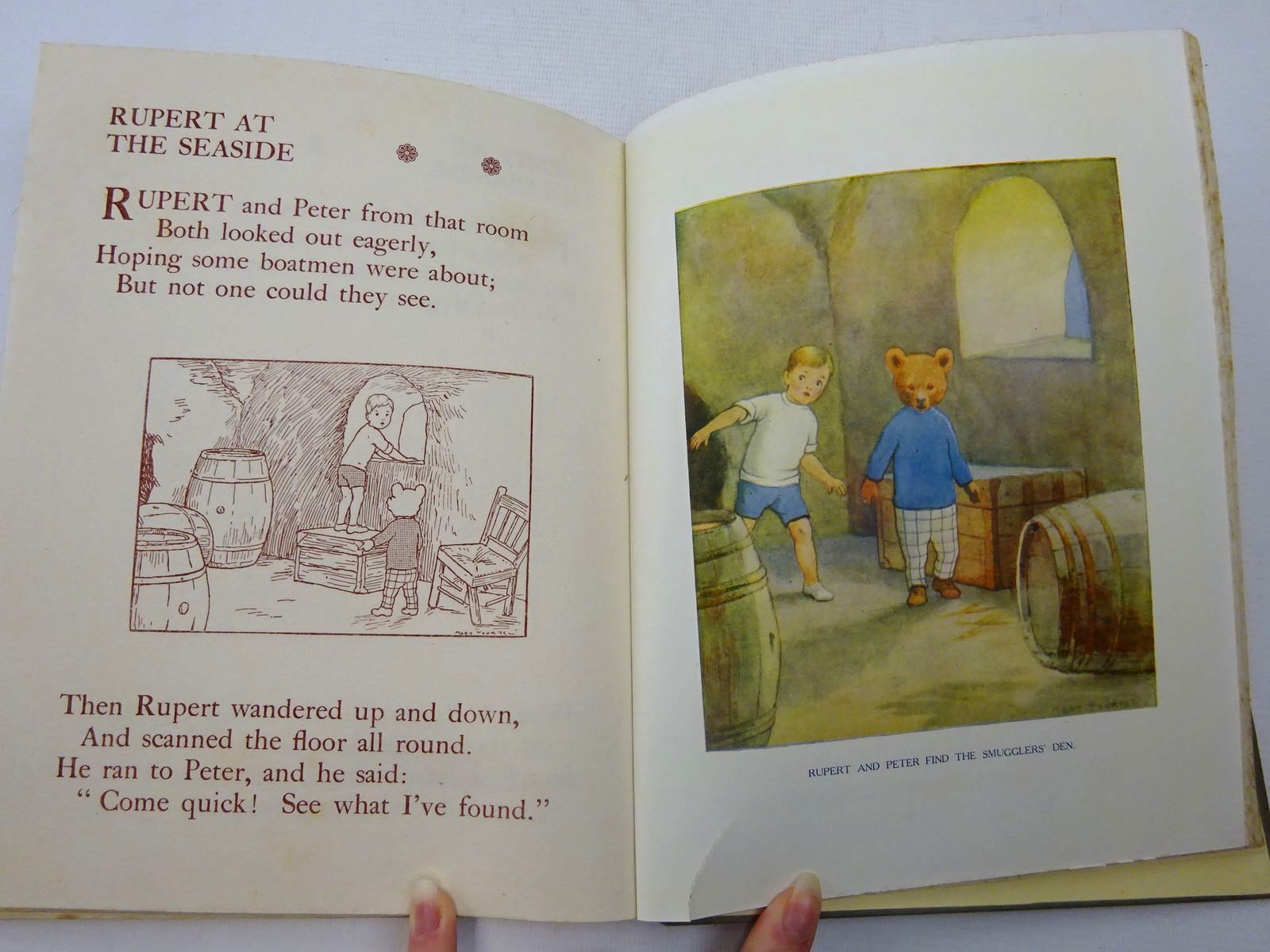 Photo of RUPERT LITTLE BEAR'S ADVENTURES NUMBER THREE written by Tourtel, Mary illustrated by Tourtel, Mary published by Sampson Low, Marston & Co. Ltd. (STOCK CODE: 2127322)  for sale by Stella & Rose's Books