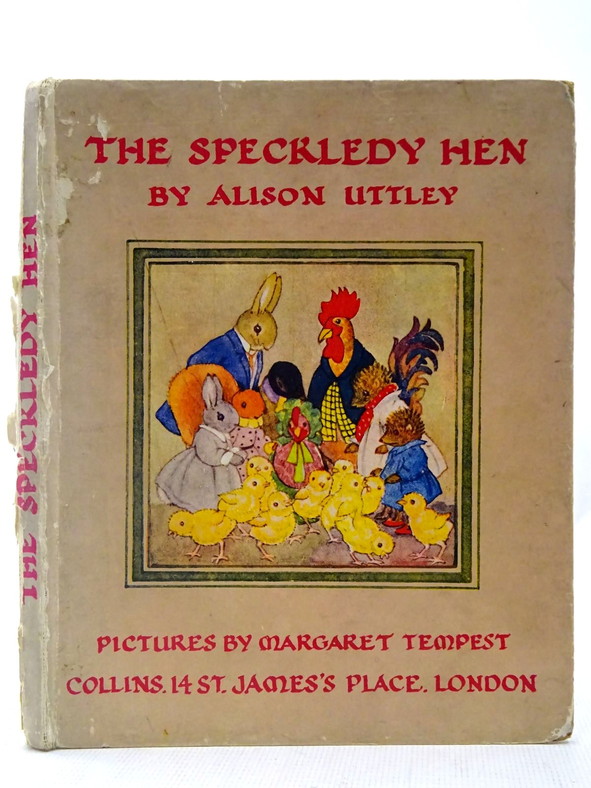 Photo of THE SPECKLEDY HEN written by Uttley, Alison illustrated by Tempest, Margaret published by Collins (STOCK CODE: 2127362)  for sale by Stella & Rose's Books