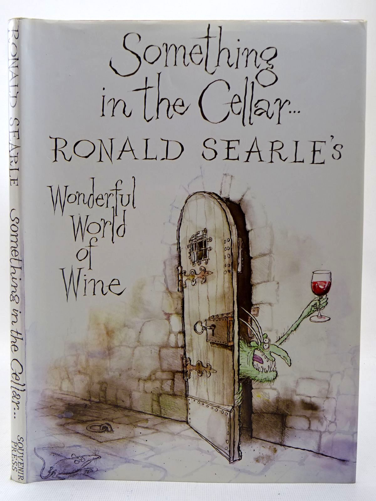 Photo of SOMETHING IN THE CELLAR written by Searle, Ronald illustrated by Searle, Ronald published by Souvenir Press (STOCK CODE: 2127377)  for sale by Stella & Rose's Books