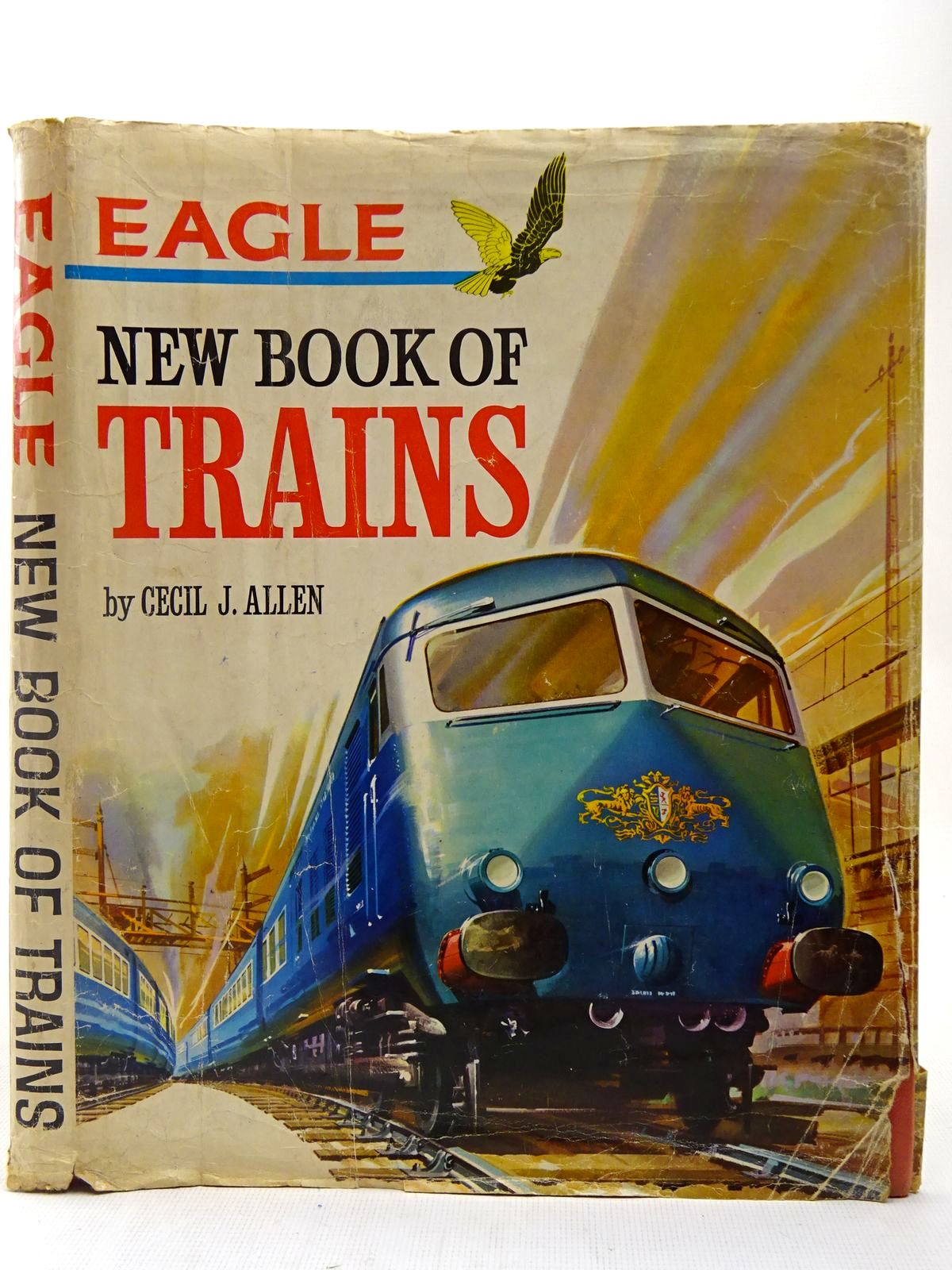Photo of EAGLE NEW BOOK OF TRAINS written by Allen, Cecil J. published by Longacre Press Ltd. (STOCK CODE: 2127380)  for sale by Stella & Rose's Books
