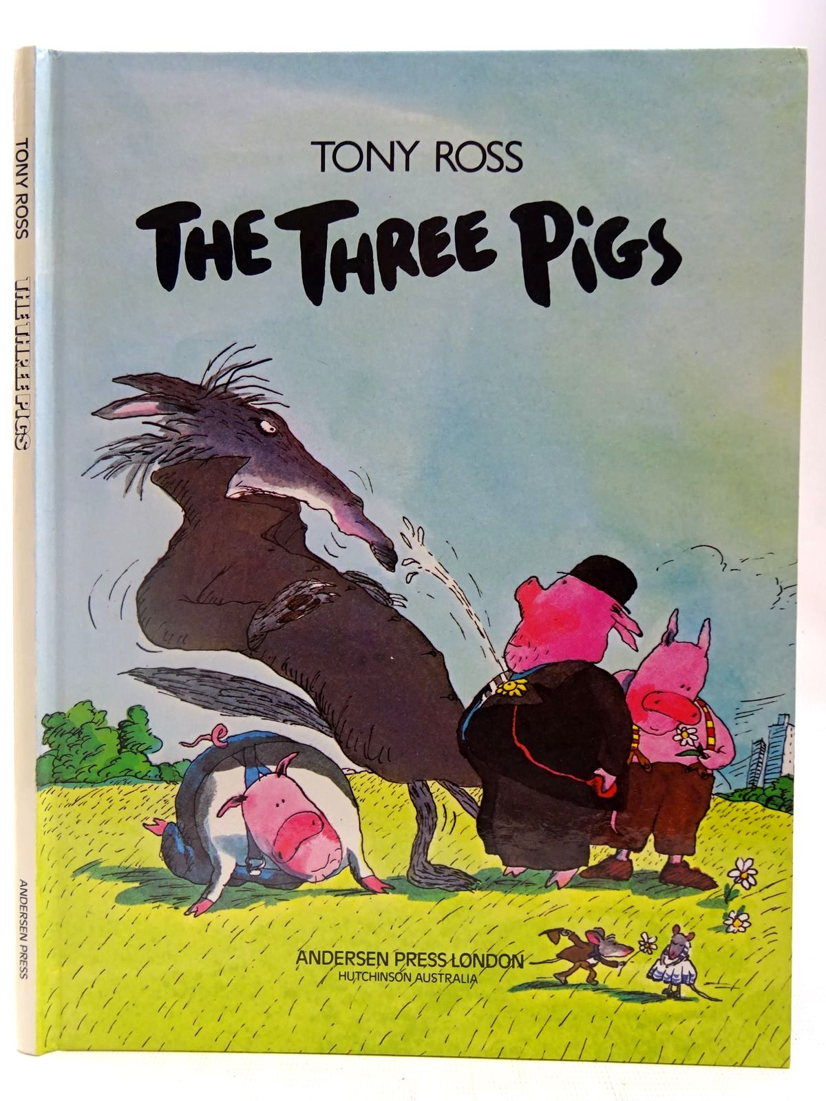 Photo of THE THREE PIGS written by Ross, Tony illustrated by Ross, Tony published by Andersen Press (STOCK CODE: 2127397)  for sale by Stella & Rose's Books