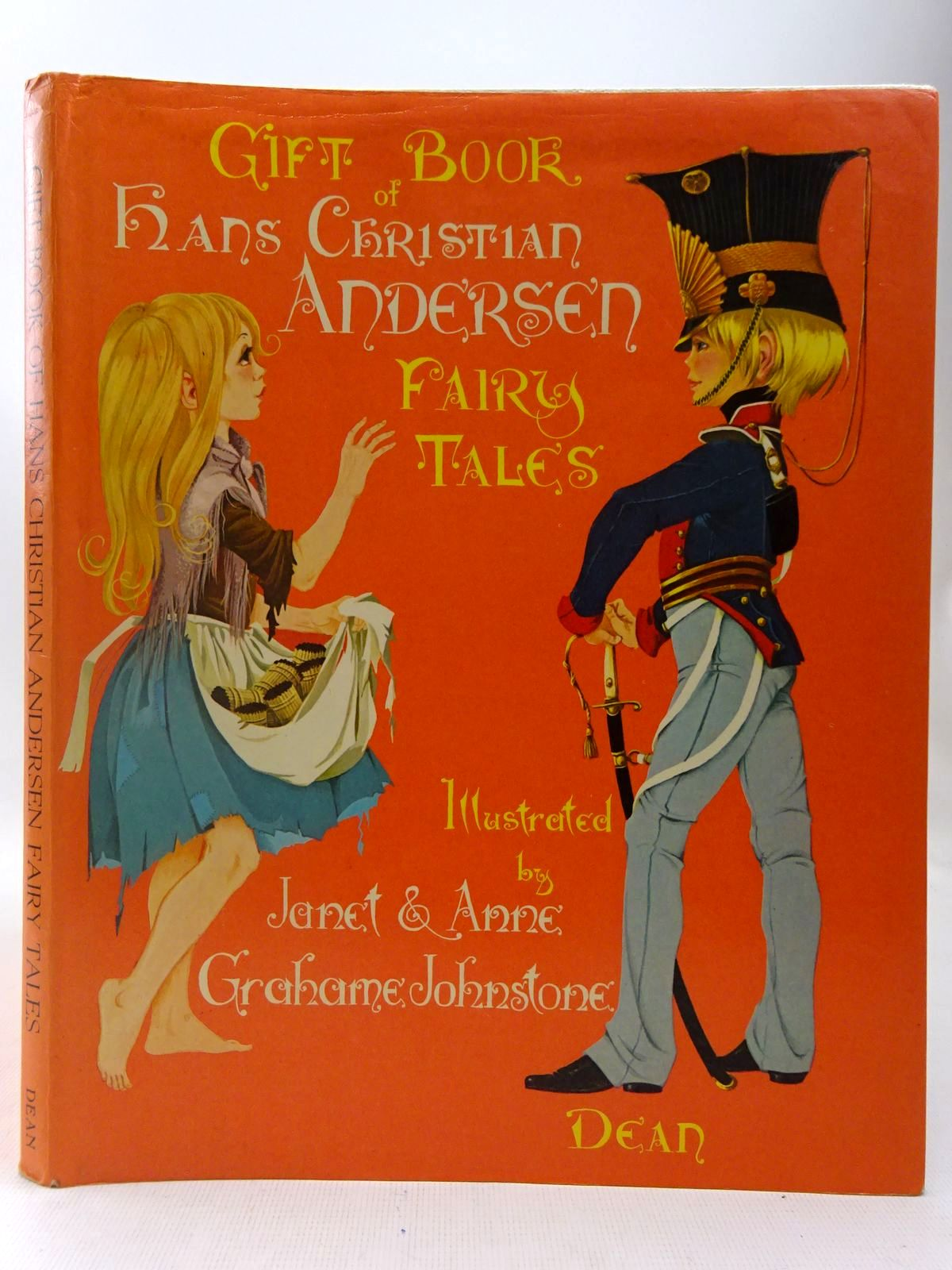 Photo of DEAN'S GIFT BOOK OF HANS CHRISTIAN ANDERSEN FAIRY TALES written by Andersen, Hans Christian illustrated by Johnstone, Janet Grahame<br />Johnstone, Anne Grahame published by Dean & Son Ltd. (STOCK CODE: 2127403)  for sale by Stella & Rose's Books