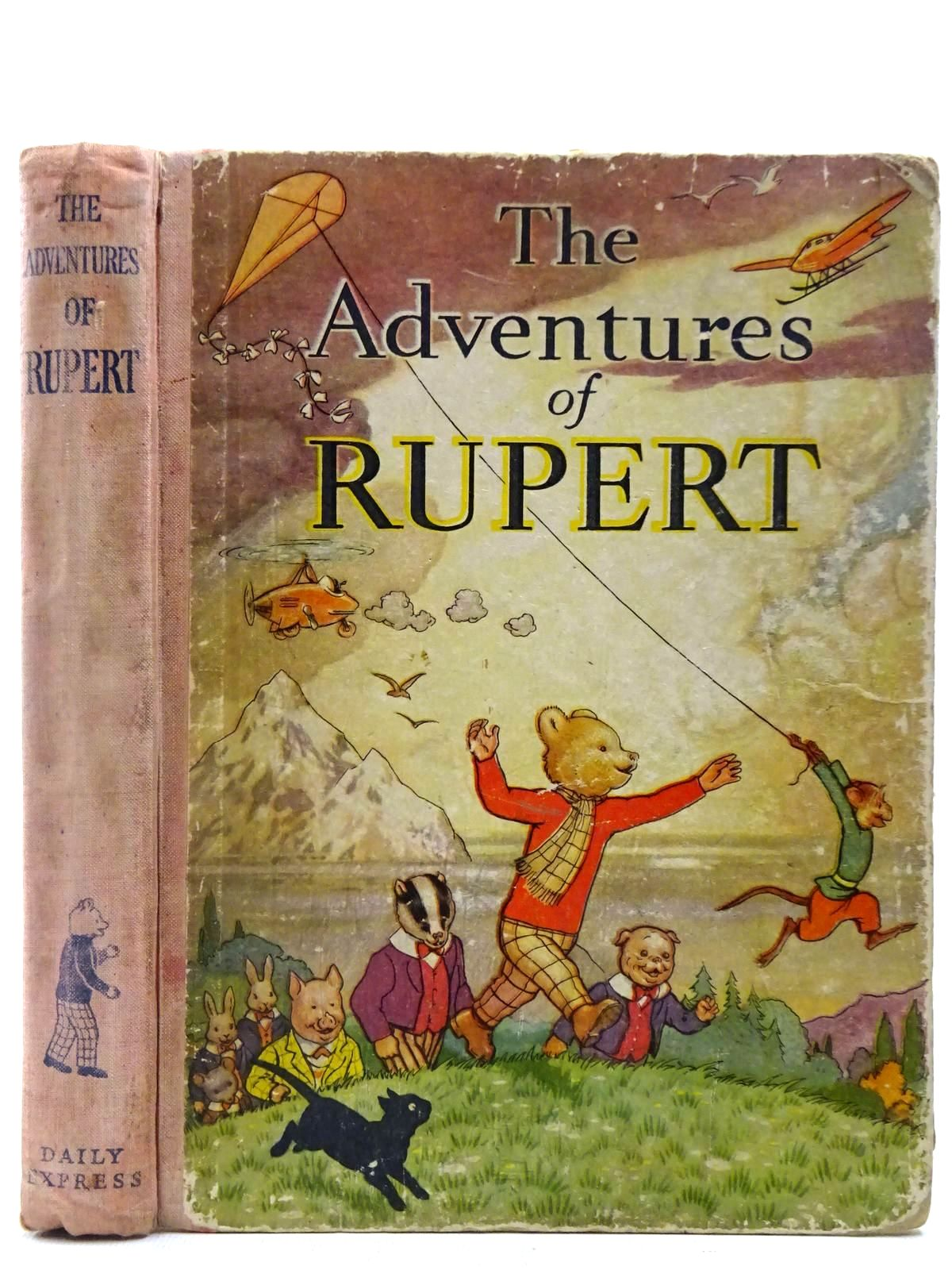 Photo of RUPERT ANNUAL 1939 - THE ADVENTURES OF RUPERT written by Bestall, Alfred illustrated by Bestall, Alfred published by Daily Express (STOCK CODE: 2127422)  for sale by Stella & Rose's Books