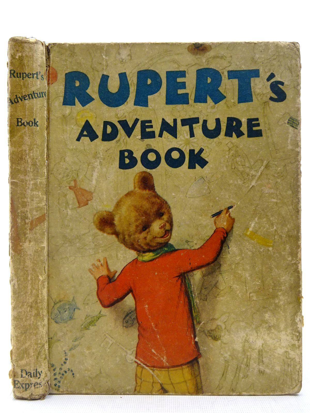 Photo of RUPERT ANNUAL 1940 - RUPERT'S ADVENTURE BOOK written by Bestall, Alfred illustrated by Bestall, Alfred published by Daily Express (STOCK CODE: 2127423)  for sale by Stella & Rose's Books