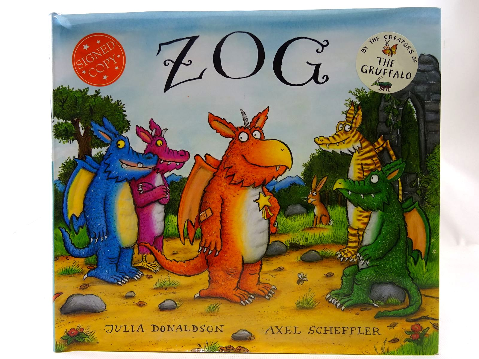 Photo of ZOG written by Donaldson, Julia illustrated by Scheffler, Axel published by Alison Green Books (STOCK CODE: 2127434)  for sale by Stella & Rose's Books