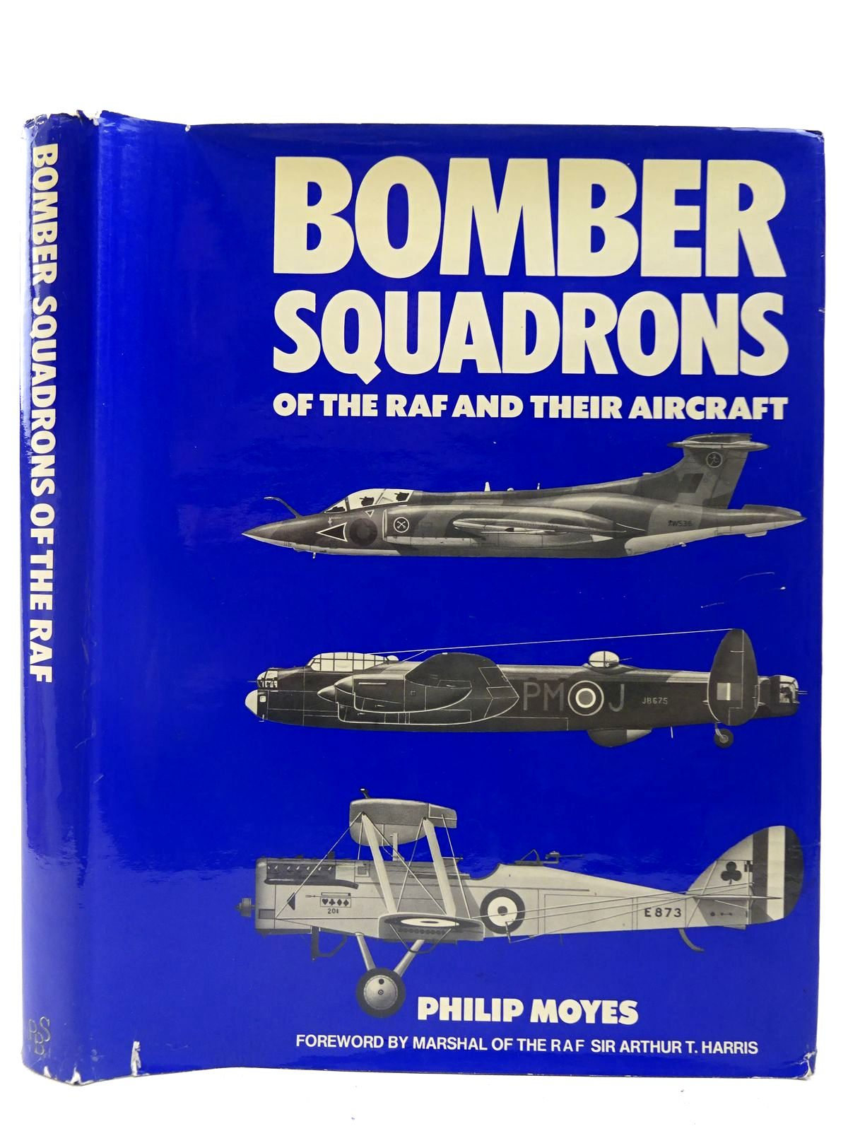 Photo of BOMBER SQUADRONS OF THE R.A.F. AND THEIR AIRCRAFT written by Moyes, Philip J.R. published by Purnell Book Services Limited (STOCK CODE: 2127477)  for sale by Stella & Rose's Books