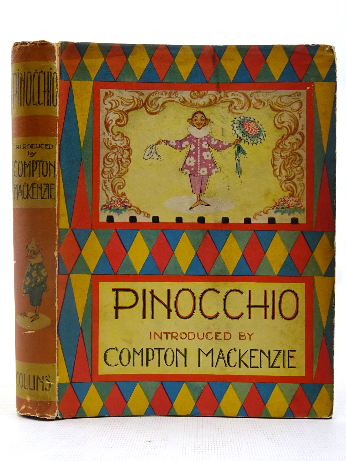 Photo of THE ADVENTURES OF PINOCCHIO written by Collodi, Carlo<br />Mackenzie, Compton illustrated by Watson, A.H. published by Collins (STOCK CODE: 2127487)  for sale by Stella & Rose's Books