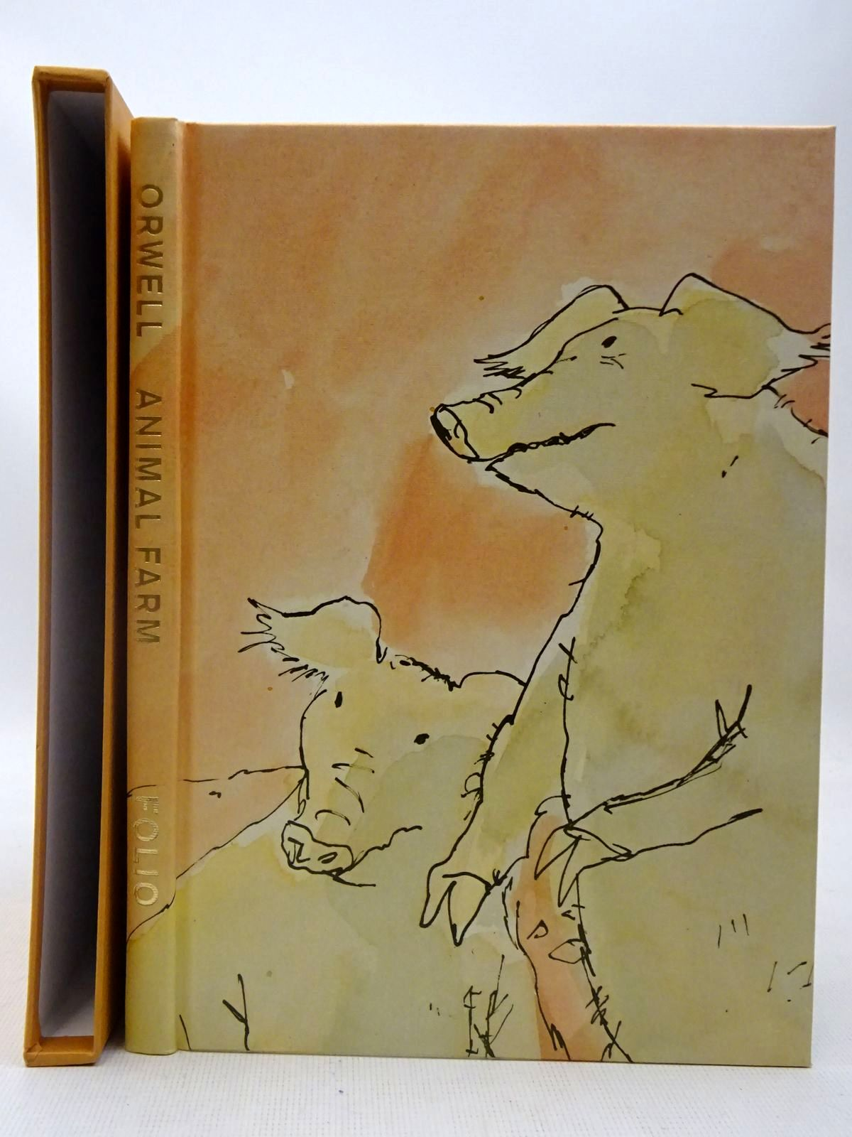 Photo of ANIMAL FARM written by Orwell, George illustrated by Blake, Quentin published by Folio Society (STOCK CODE: 2127489)  for sale by Stella & Rose's Books