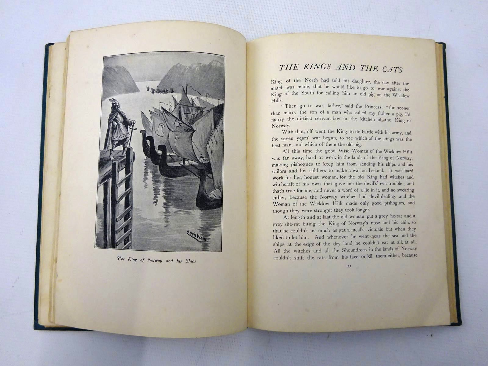 Photo of THE KINGS AND THE CATS written by Hannon, John illustrated by Wain, Louis published by Burns & Oates (STOCK CODE: 2127497)  for sale by Stella & Rose's Books
