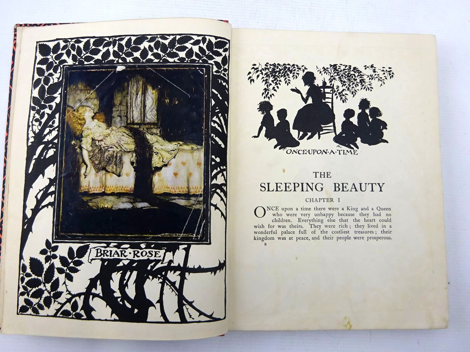 Photo of THE SLEEPING BEAUTY written by Evans, C.S. illustrated by Rackham, Arthur published by William Heinemann (STOCK CODE: 2127498)  for sale by Stella & Rose's Books