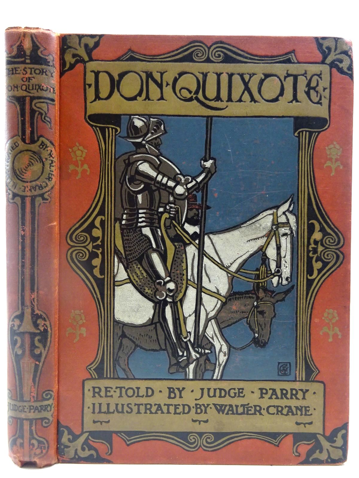 Photo of DON QUIXOTE OF THE MANCHA written by De Cervantes, Miguel<br />Parry, Edward Abbott illustrated by Crane, Walter published by Blackie & Son Ltd., Sherratt & Hughes (STOCK CODE: 2127508)  for sale by Stella & Rose's Books