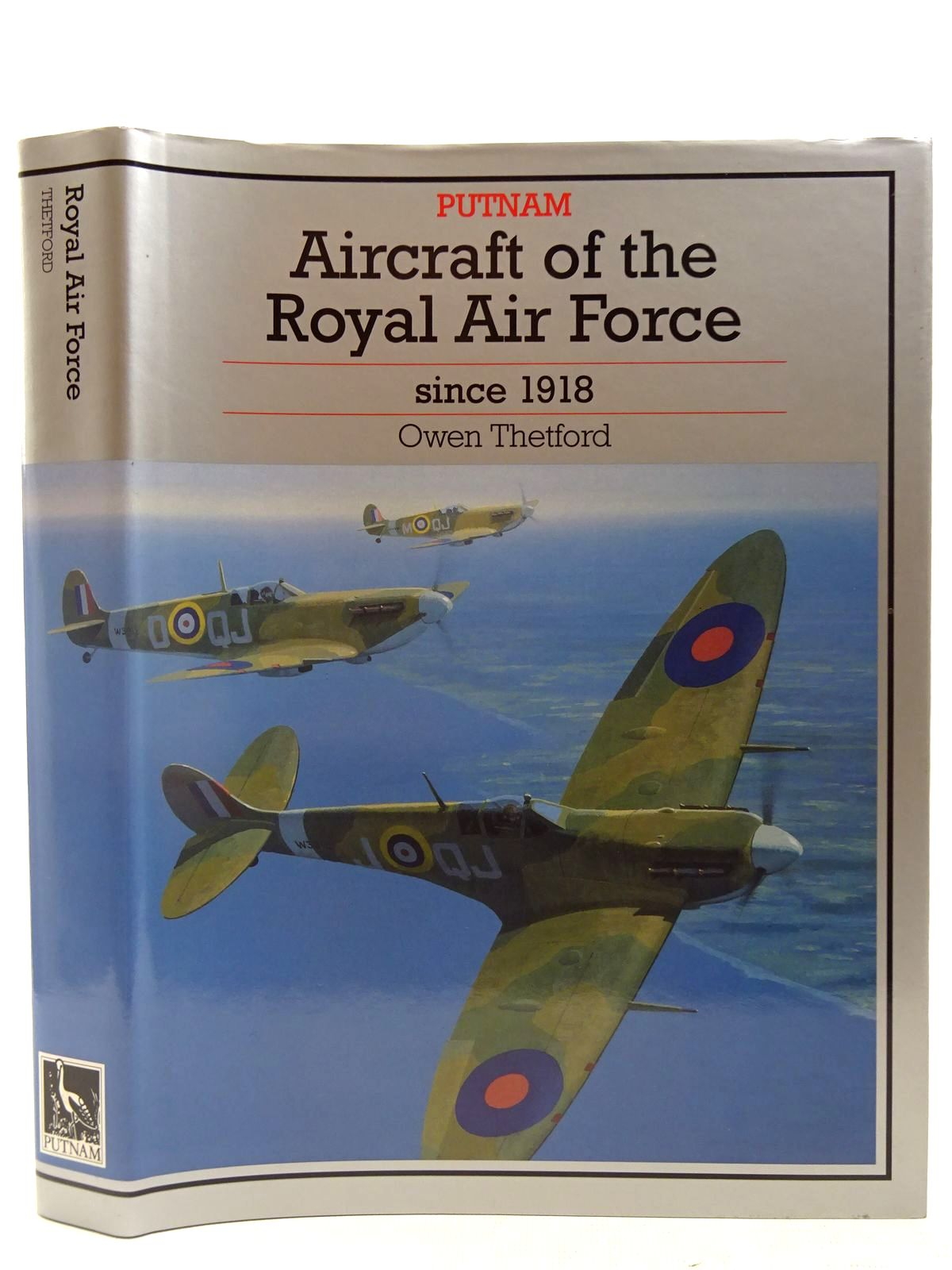 Photo of AIRCRAFT OF THE ROYAL AIR FORCE SINCE 1918 written by Thetford, Owen G. published by Putnam (STOCK CODE: 2127514)  for sale by Stella & Rose's Books