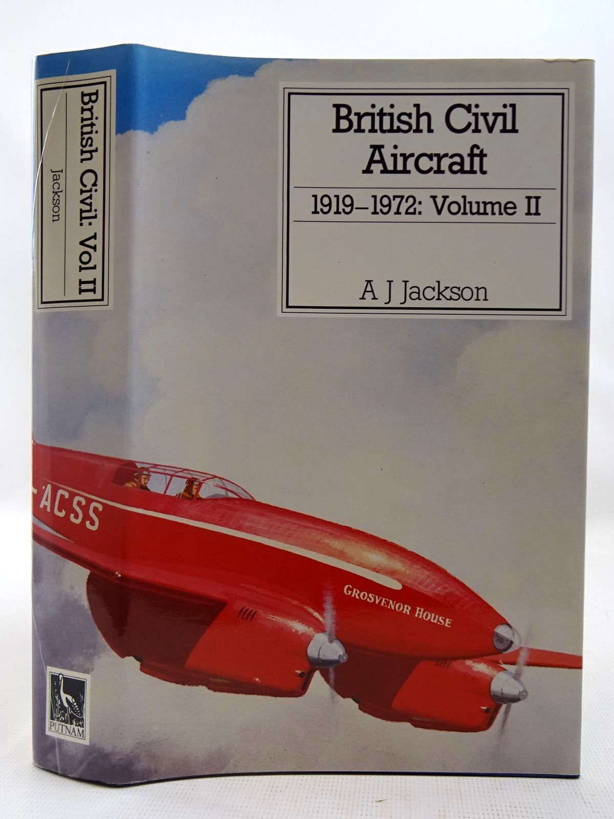Photo of BRITISH CIVIL AIRCRAFT 1919 VOLUME II written by Jackson, A.J. published by Putnam (STOCK CODE: 2127520)  for sale by Stella & Rose's Books