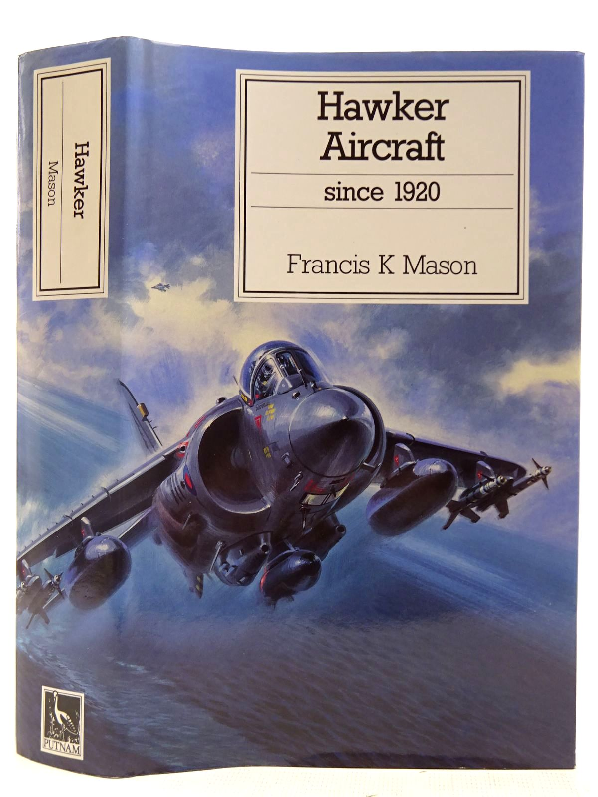 Photo of HAWKER AIRCRAFT SINCE 1920 written by Mason, Francis K. published by Putnam Aeronautical Books (STOCK CODE: 2127546)  for sale by Stella & Rose's Books