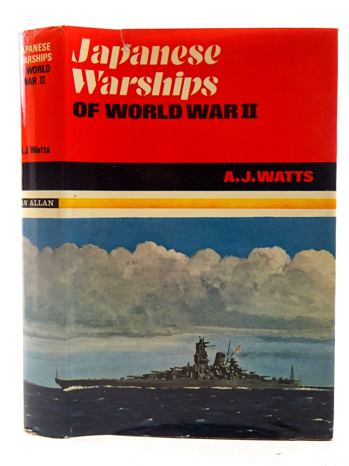 Photo of JAPANESE WARSHIPS OF WORLD WAR II written by Watts, Anthony J. published by Ian Allan (STOCK CODE: 2127563)  for sale by Stella & Rose's Books