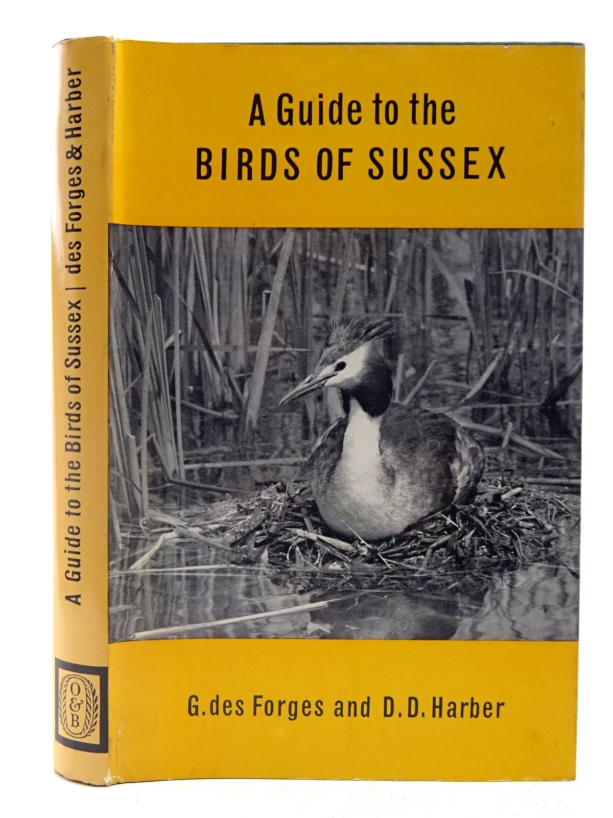 Photo of A GUIDE TO THE BIRDS OF SUSSEX written by Des Forges, G.<br />Harber, D.D. published by Oliver & Boyd (STOCK CODE: 2127599)  for sale by Stella & Rose's Books