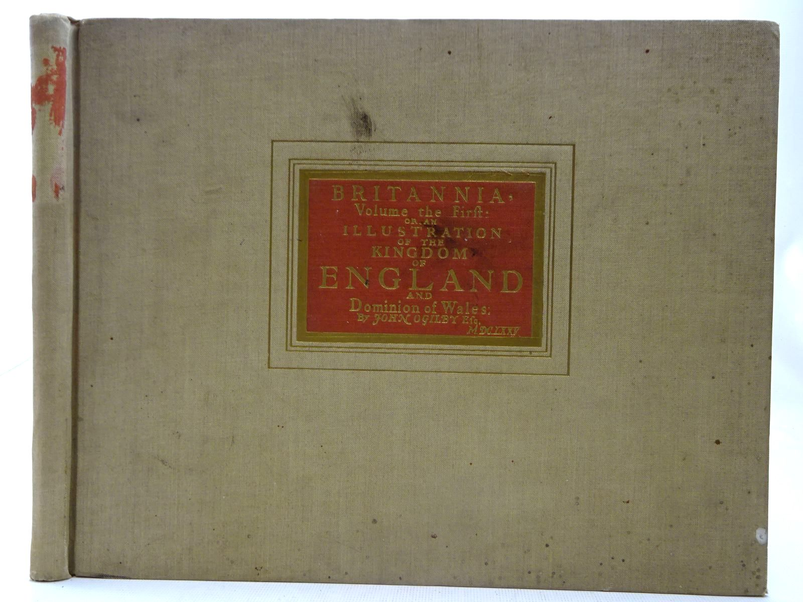 Photo of BRITANNIA, VOLUME THE FIRST: OR, AN ILLUSTRATION OF THE KINGDOM OF ENGLAND AND DOMINION OF WALES written by Ogilby, John illustrated by Ogilby, John published by Alexander Duckham & Co. Ltd. (STOCK CODE: 2127625)  for sale by Stella & Rose's Books