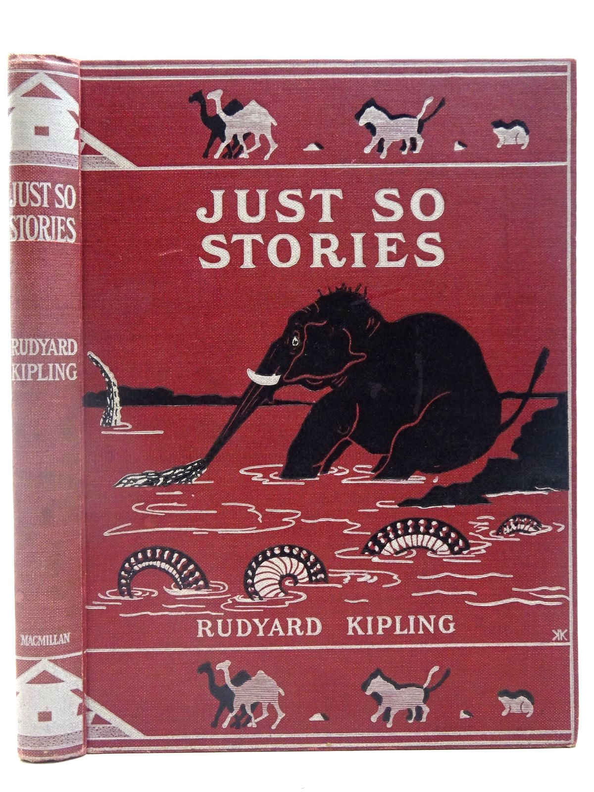 Photo of JUST SO STORIES written by Kipling, Rudyard illustrated by Kipling, Rudyard published by Macmillan & Co. Ltd. (STOCK CODE: 2127673)  for sale by Stella & Rose's Books