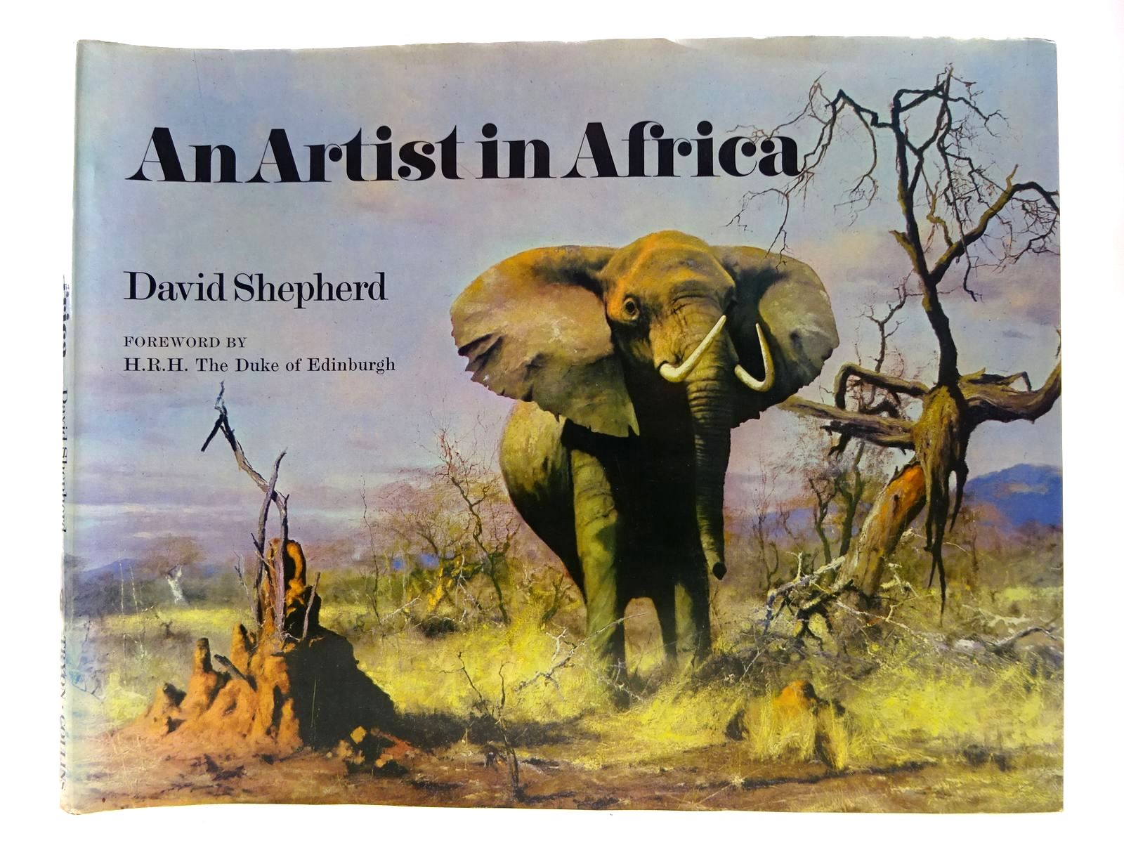 Photo of AN ARTIST IN AFRICA written by Sitwell, Nigel illustrated by Shepherd, David published by Harper Collins, The Tryon Gallery (STOCK CODE: 2127675)  for sale by Stella & Rose's Books