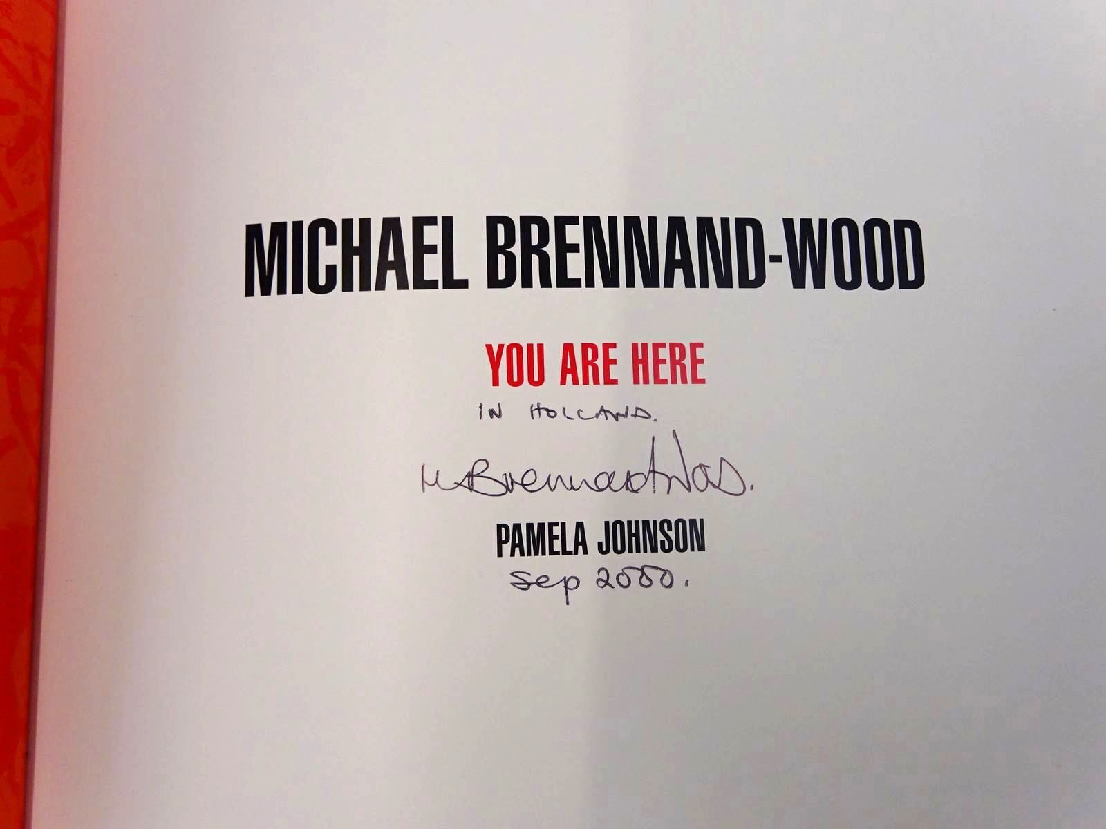 Photo of MICHAEL BRENNAND-WOOD YOU ARE HERE written by Johnson, Pamela illustrated by Brennand-Wood, Michael published by Hare Print Press (STOCK CODE: 2127680)  for sale by Stella & Rose's Books