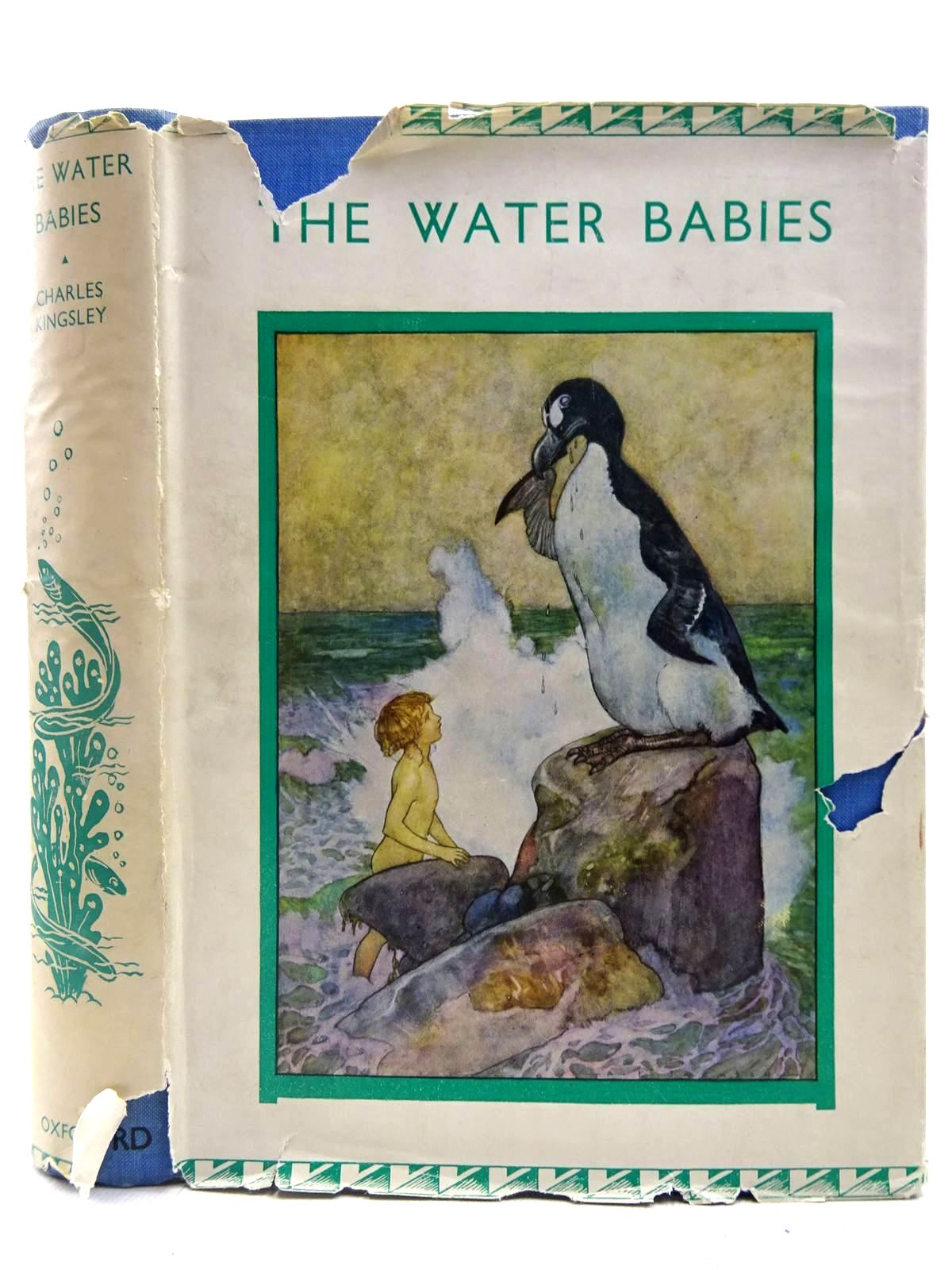 Photo of THE WATER BABIES written by Kingsley, Charles illustrated by Jackson, A.E. published by Oxford University Press, Humphrey Milford (STOCK CODE: 2127734)  for sale by Stella & Rose's Books
