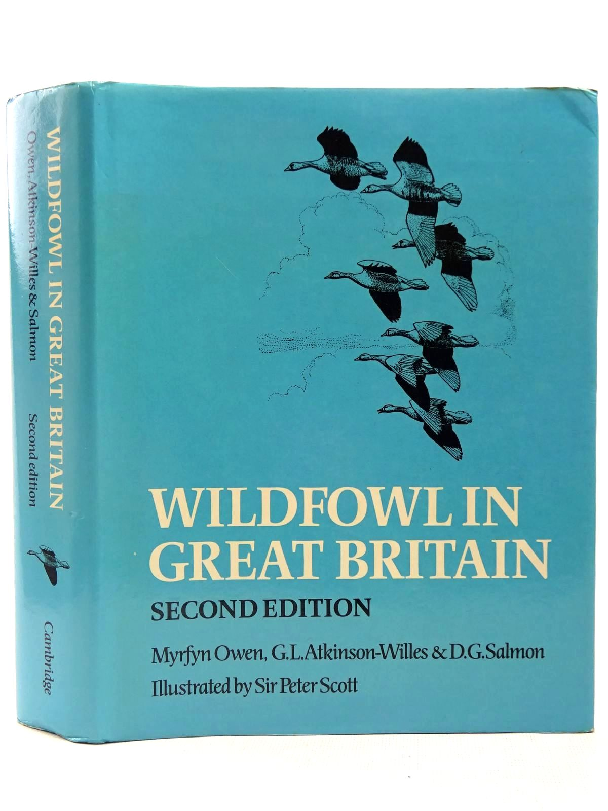 Photo of WILDFOWL IN GREAT BRITAIN written by Owen, Myrfyn<br />Atkinson-Willes, G.L.<br />Salmon, D.G. illustrated by Scott, Peter published by Cambridge University Press (STOCK CODE: 2127760)  for sale by Stella & Rose's Books