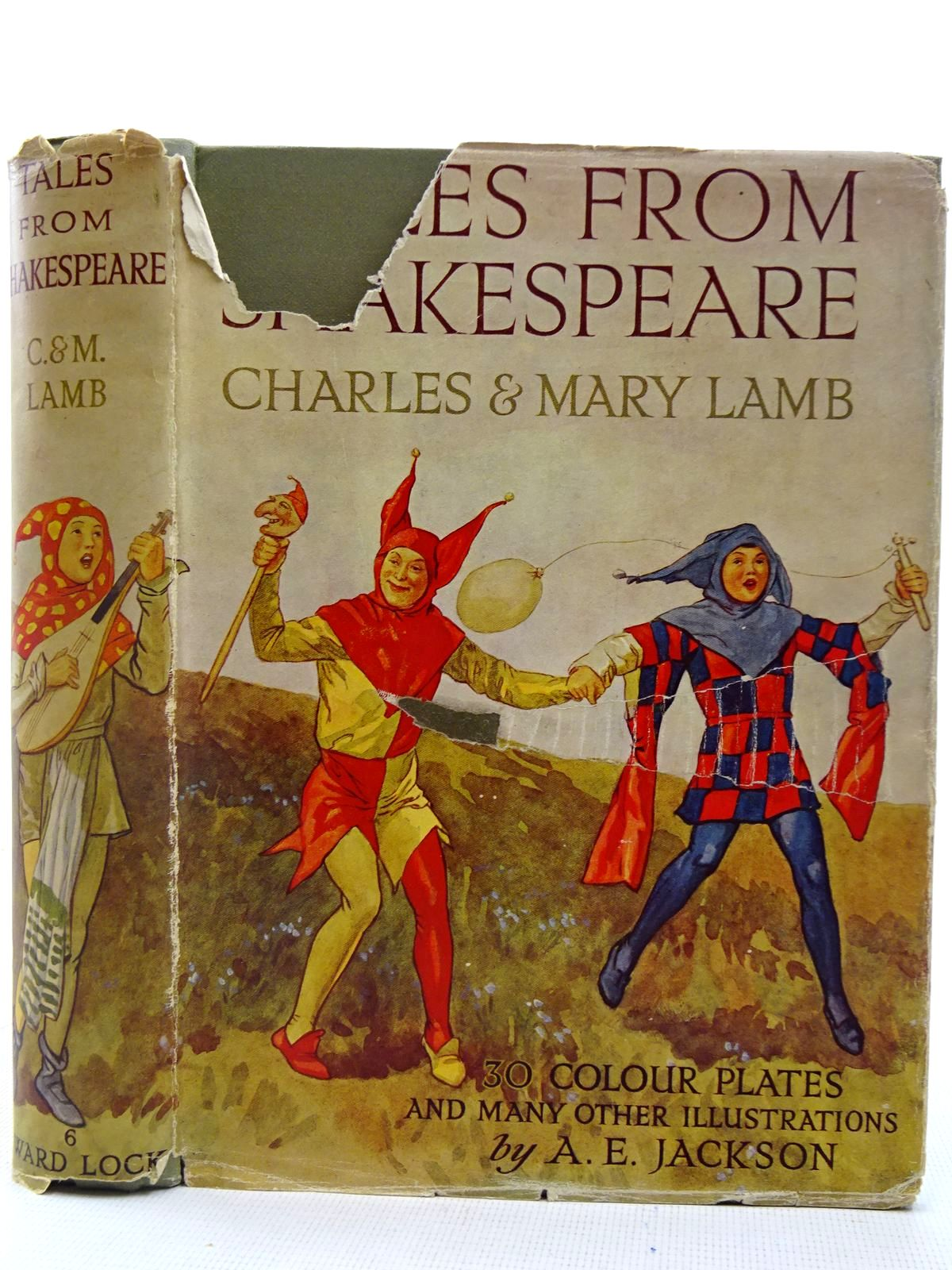 Photo of TALES FROM SHAKESPEARE written by Lamb, Charles<br />Lamb, Mary illustrated by Jackson, A.E. published by Ward, Lock & Co. Ltd. (STOCK CODE: 2127786)  for sale by Stella & Rose's Books