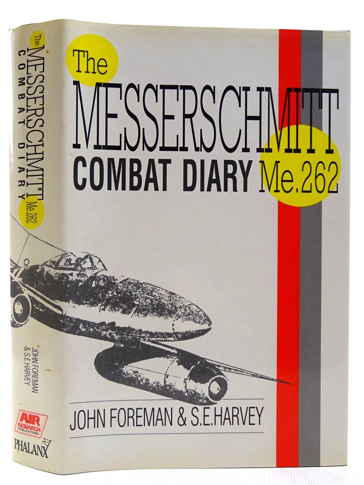 Photo of ME262 COMBAT DIARY written by Foreman, John<br />Harvey, S.E. published by Air Research Publications (STOCK CODE: 2127789)  for sale by Stella & Rose's Books