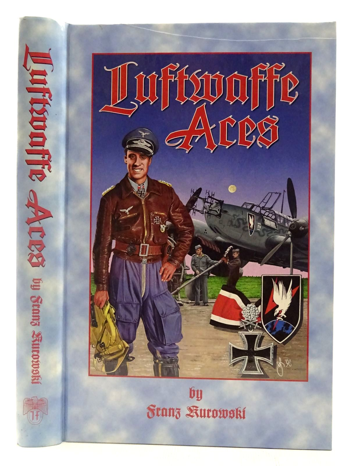 Photo of LUFTWAFFE ACES written by Kurowski, Franz<br />Johnstone, David published by J.J. Fedorowicz Publishing, Inc. (STOCK CODE: 2127792)  for sale by Stella & Rose's Books
