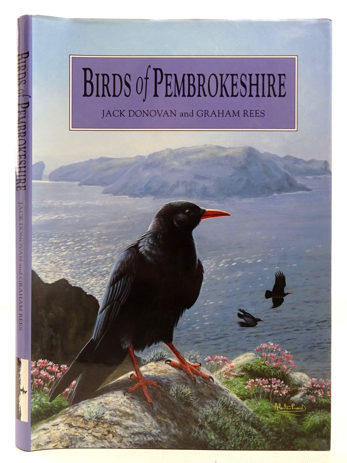 Photo of BIRDS OF PEMBROKESHIRE written by Donovan, Jack<br />Rees, Graham published by Dyfed Wildlife Trust (STOCK CODE: 2127826)  for sale by Stella & Rose's Books