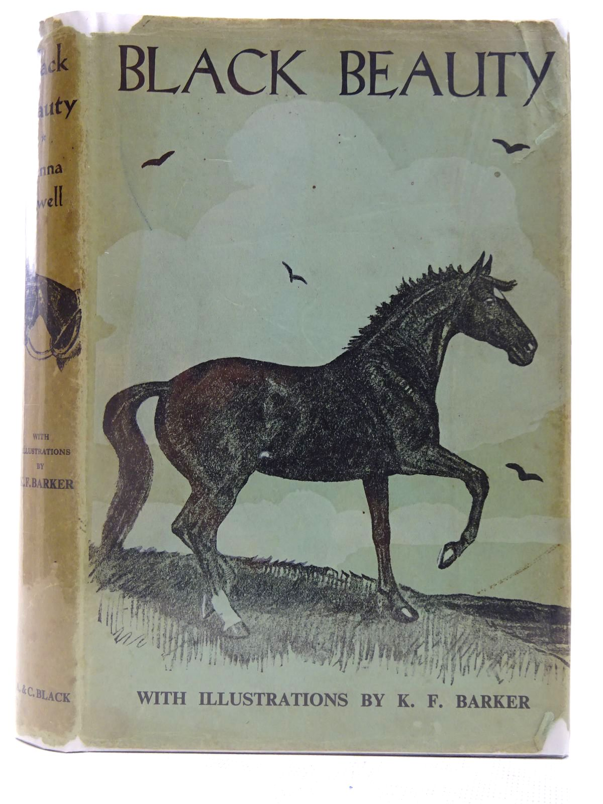 Photo of BLACK BEAUTY written by Sewell, Anna illustrated by Barker, K.F. published by A. & C. Black Ltd. (STOCK CODE: 2127834)  for sale by Stella & Rose's Books