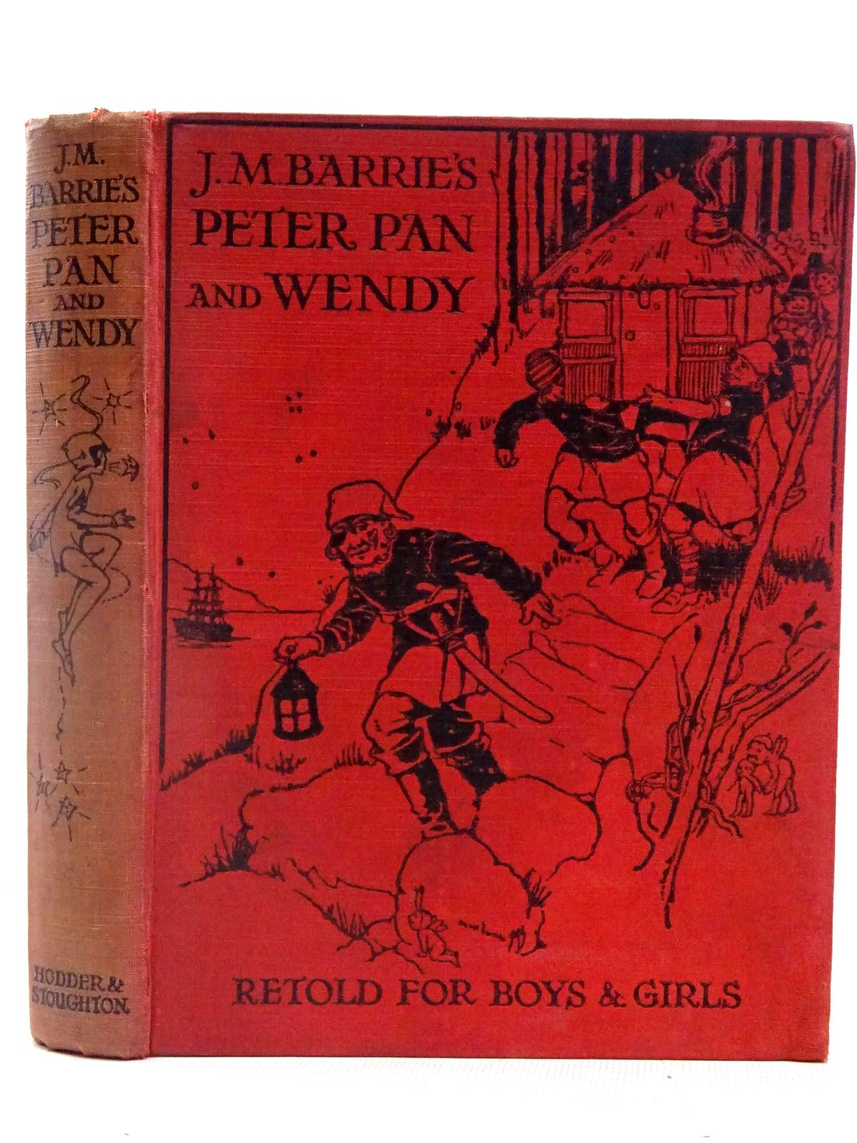 Photo of PETER PAN AND WENDY written by Barrie, J.M.<br />Byron, May illustrated by Attwell, Mabel Lucie published by Hodder & Stoughton (STOCK CODE: 2127844)  for sale by Stella & Rose's Books