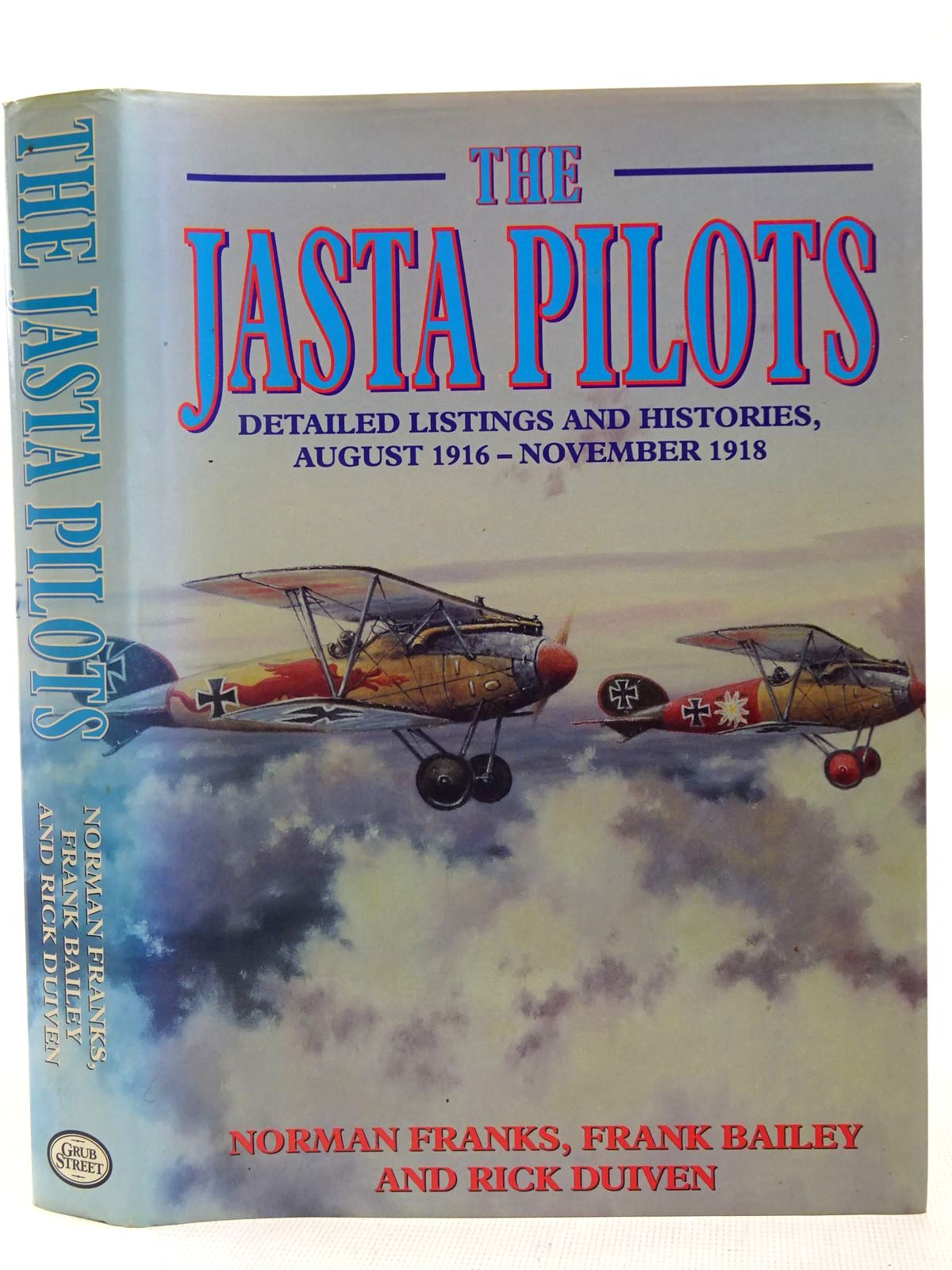 Photo of THE JASTA PILOTS written by Franks, Norman<br />Bailey, Frank<br />Duiven, Rick published by Grub Street (STOCK CODE: 2127882)  for sale by Stella & Rose's Books