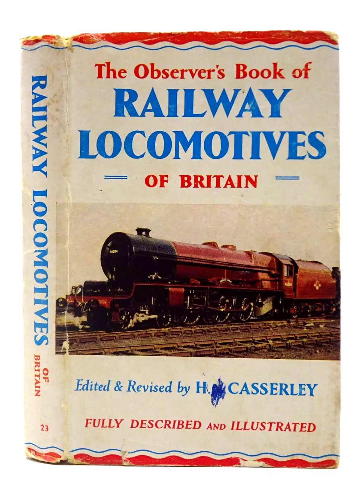 Photo of THE OBSERVER'S BOOK OF RAILWAY LOCOMOTIVES OF BRITAIN