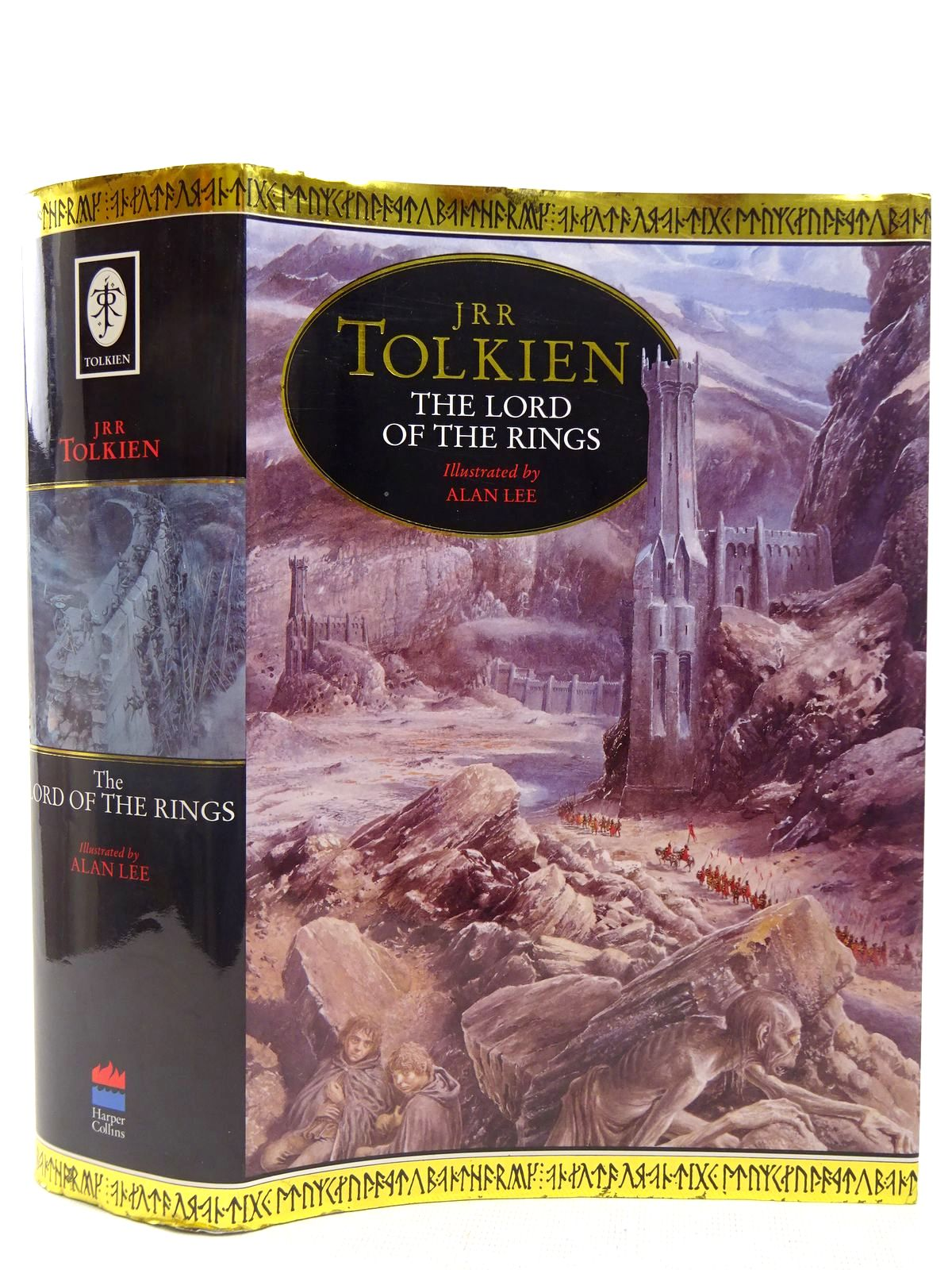 Photo of THE LORD OF THE RINGS written by Tolkien, J.R.R. illustrated by Lee, Alan published by Harper Collins (STOCK CODE: 2127951)  for sale by Stella & Rose's Books