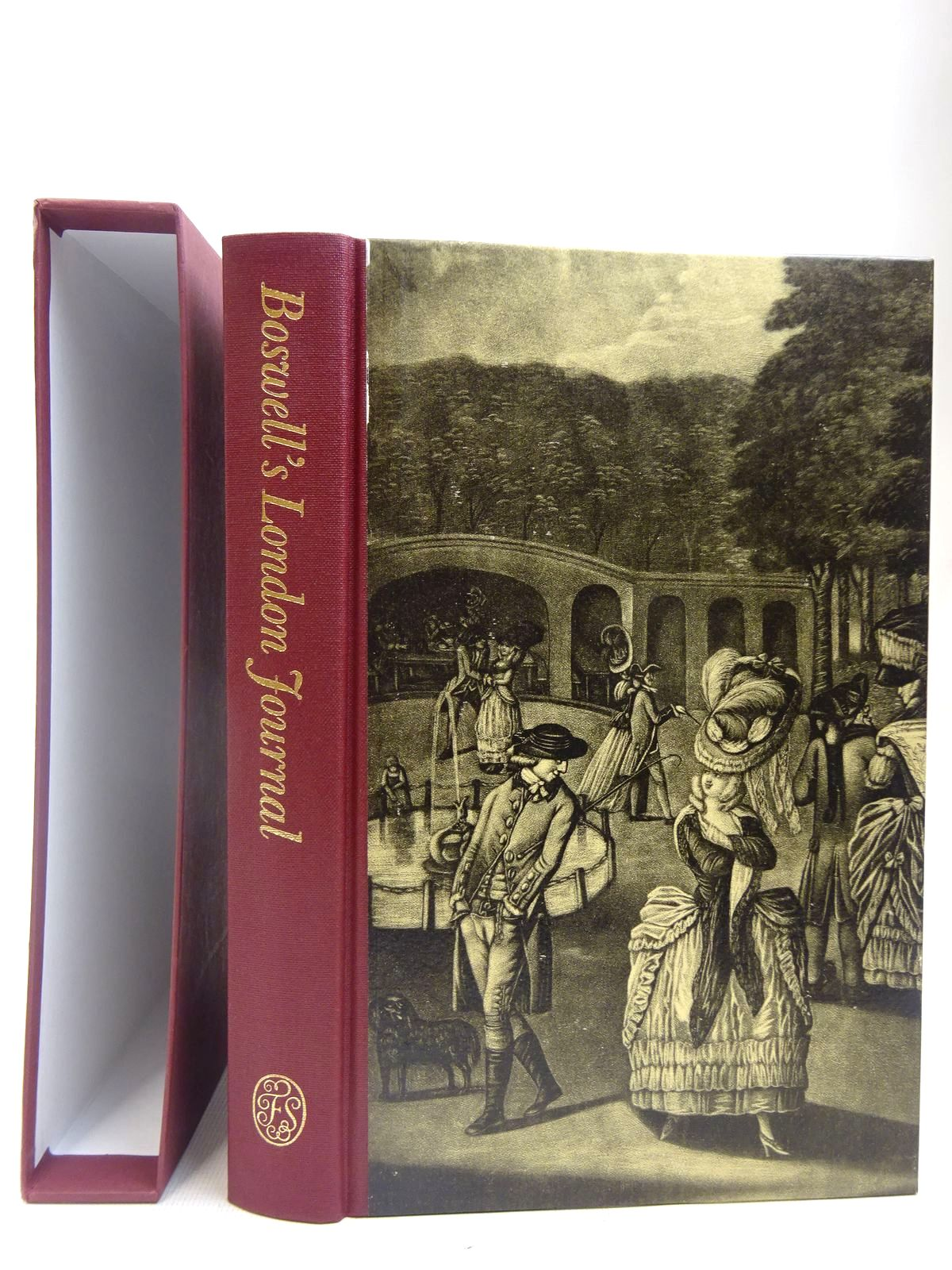 Photo of BOSWELL'S LONDON JOURNAL 1762-63 written by Boswell, James<br />Pottle, Frederick A. illustrated by Willison, George published by Folio Society (STOCK CODE: 2127999)  for sale by Stella & Rose's Books