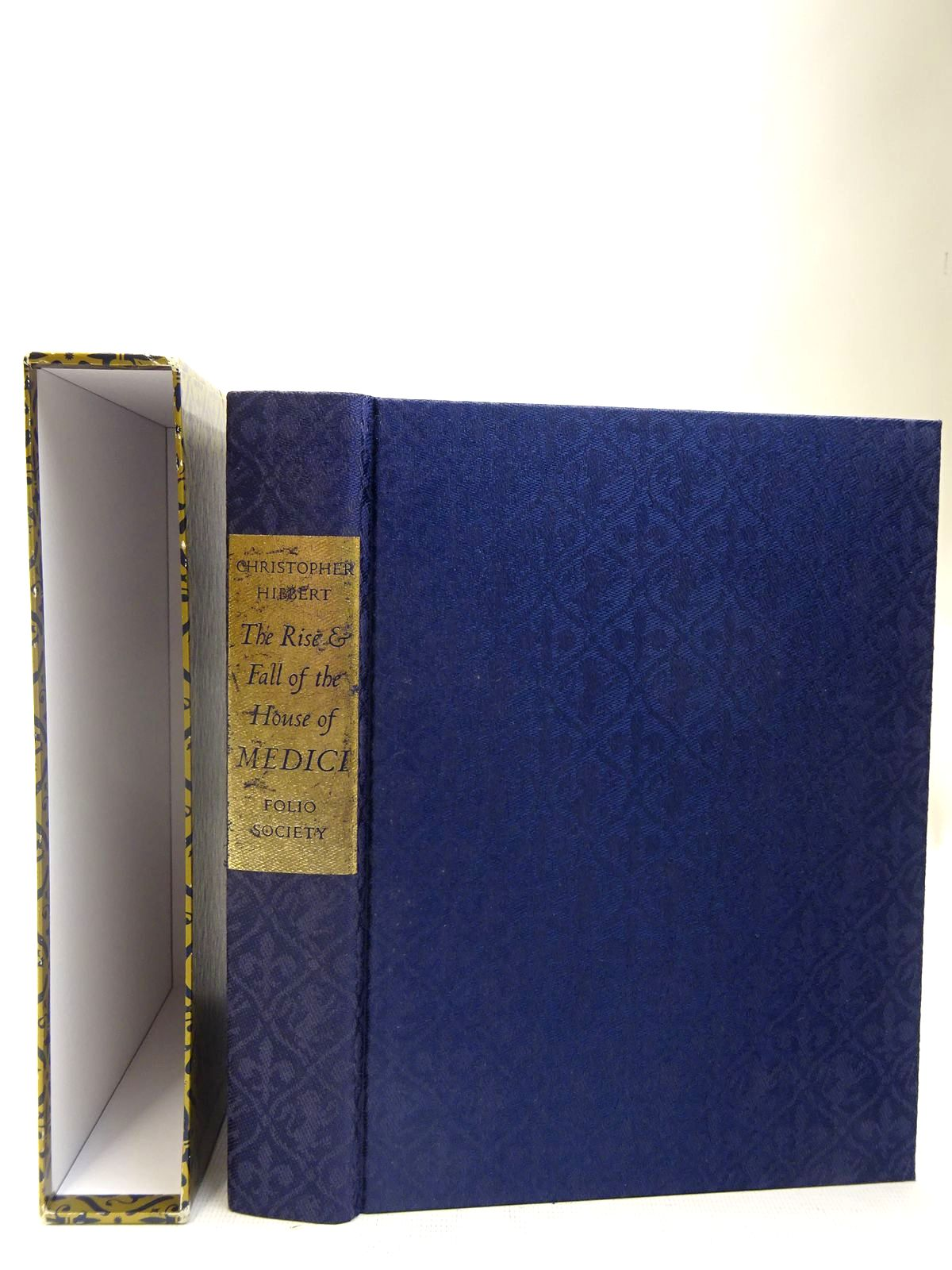 Photo of THE RISE AND FALL OF THE HOUSE OF MEDICI written by Hibbert, Christopher<br />Acton, Harold published by Folio Society (STOCK CODE: 2128008)  for sale by Stella & Rose's Books