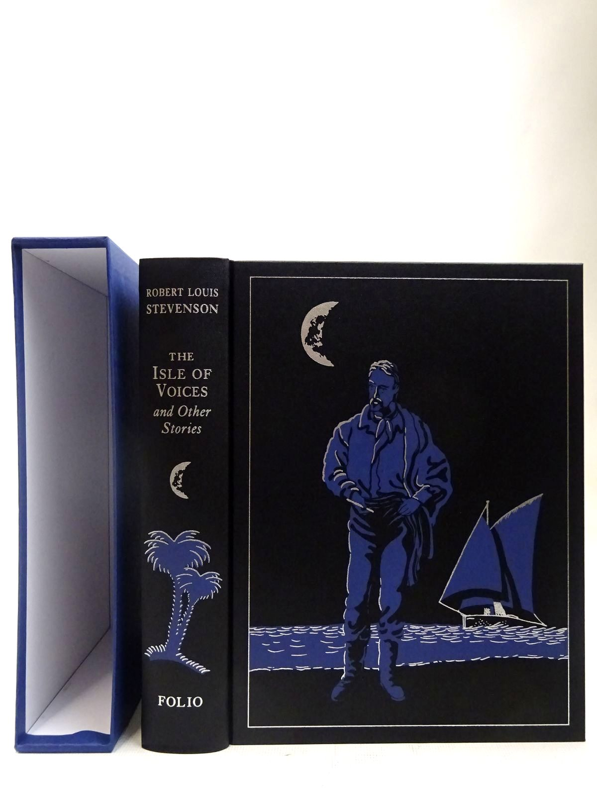Photo of THE ISLE OF VOICES AND OTHER STORIES written by Stevenson, Robert Louis illustrated by Foreman, Michael published by Folio Society (STOCK CODE: 2128012)  for sale by Stella & Rose's Books