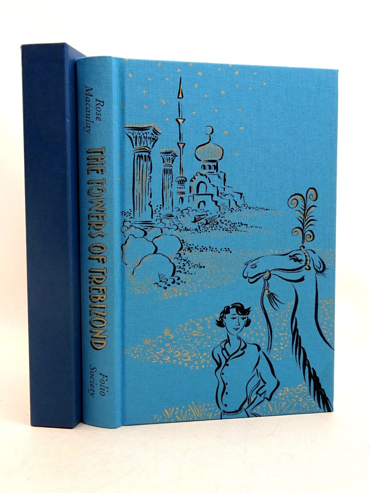 Photo of THE TOWERS OF TREBIZOND written by Macaulay, Rose illustrated by Ledwidge, Natacha published by Folio Society (STOCK CODE: 2128022)  for sale by Stella & Rose's Books