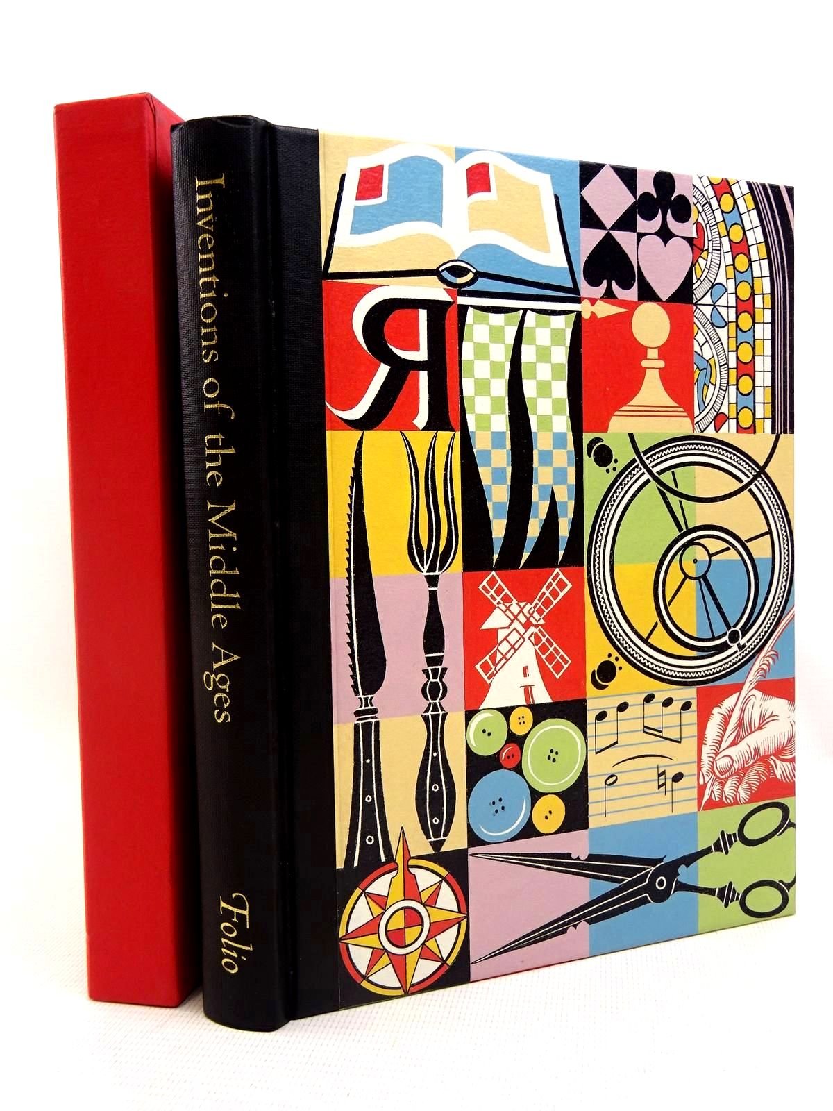 Photo of INVENTIONS OF THE MIDDLE AGES written by Frugoni, Chiara published by Folio Society (STOCK CODE: 2128028)  for sale by Stella & Rose's Books