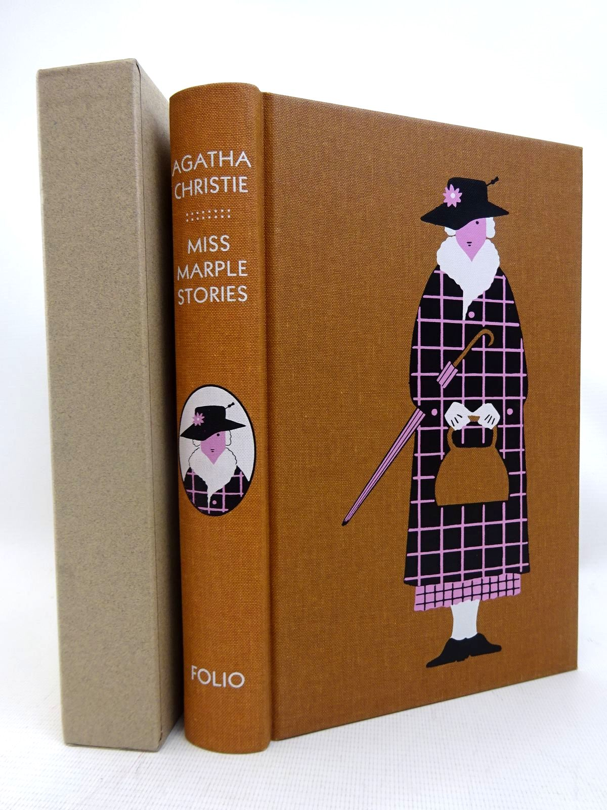 Photo of THE COMPLETE MISS MARPLE SHORT STORIES written by Christie, Agatha illustrated by Brown, Christopher published by Folio Society (STOCK CODE: 2128036)  for sale by Stella & Rose's Books