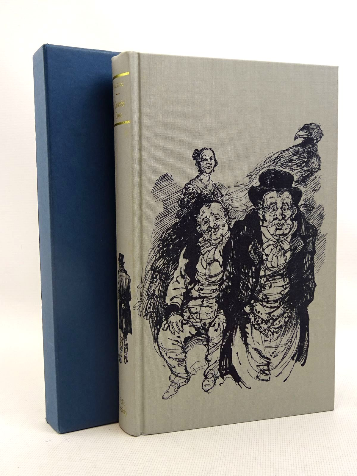 Photo of COUSIN PONS written by De Balzac, Honore<br />Hunt, Herbert J. illustrated by Hughes, Shirley published by Folio Society (STOCK CODE: 2128038)  for sale by Stella & Rose's Books