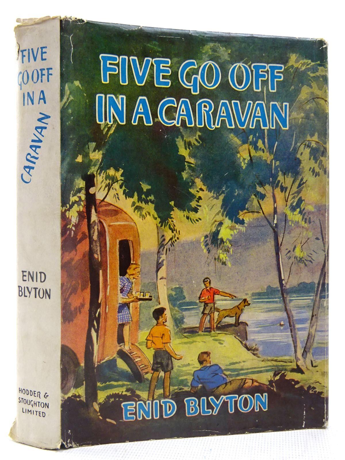Photo of FIVE GO OFF IN A CARAVAN- Stock Number: 2128059
