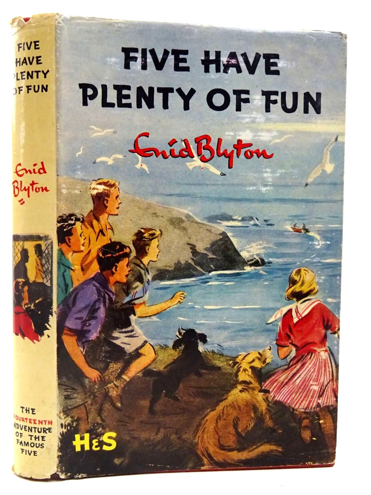 Photo of FIVE HAVE PLENTY OF FUN written by Blyton, Enid illustrated by Soper, Eileen published by Hodder & Stoughton (STOCK CODE: 2128063)  for sale by Stella & Rose's Books