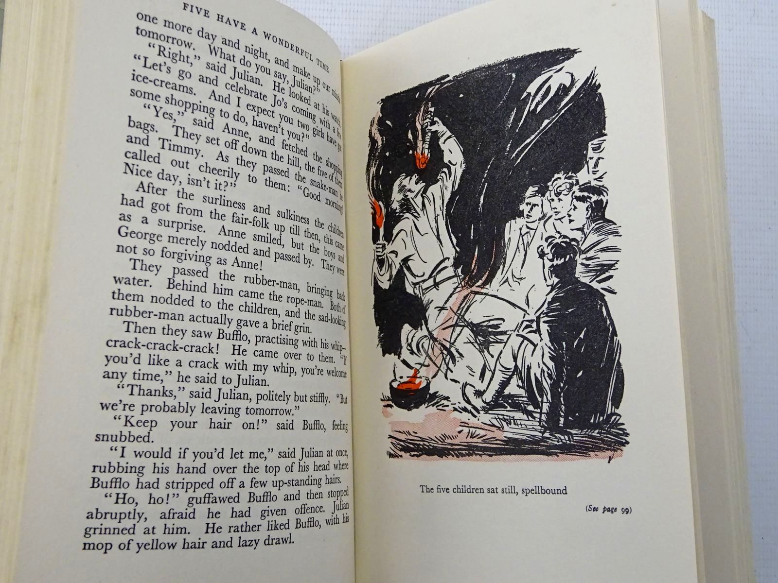 Photo of FIVE HAVE A WONDERFUL TIME written by Blyton, Enid illustrated by Soper, Eileen published by Hodder & Stoughton (STOCK CODE: 2128066)  for sale by Stella & Rose's Books