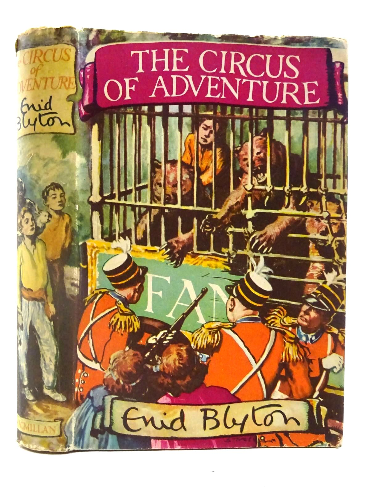 Photo of THE CIRCUS OF ADVENTURE written by Blyton, Enid illustrated by Tresilian, Stuart published by Macmillan & Co. Ltd. (STOCK CODE: 2128073)  for sale by Stella & Rose's Books