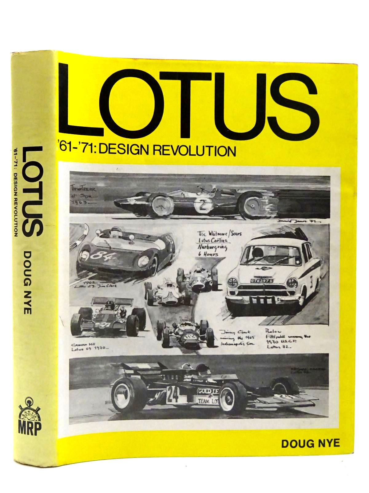 Photo of LOTUS '61-'71: DESIGN REVOLUTION written by Nye, Doug published by Robert Bentley Inc. (STOCK CODE: 2128076)  for sale by Stella & Rose's Books