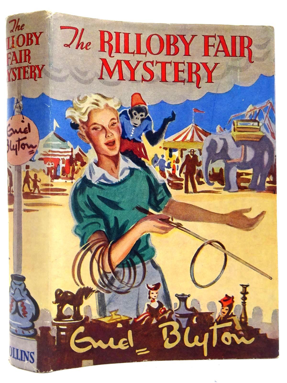 Photo of THE RILLOBY FAIR MYSTERY written by Blyton, Enid illustrated by Dunlop, Gilbert published by Collins (STOCK CODE: 2128077)  for sale by Stella & Rose's Books