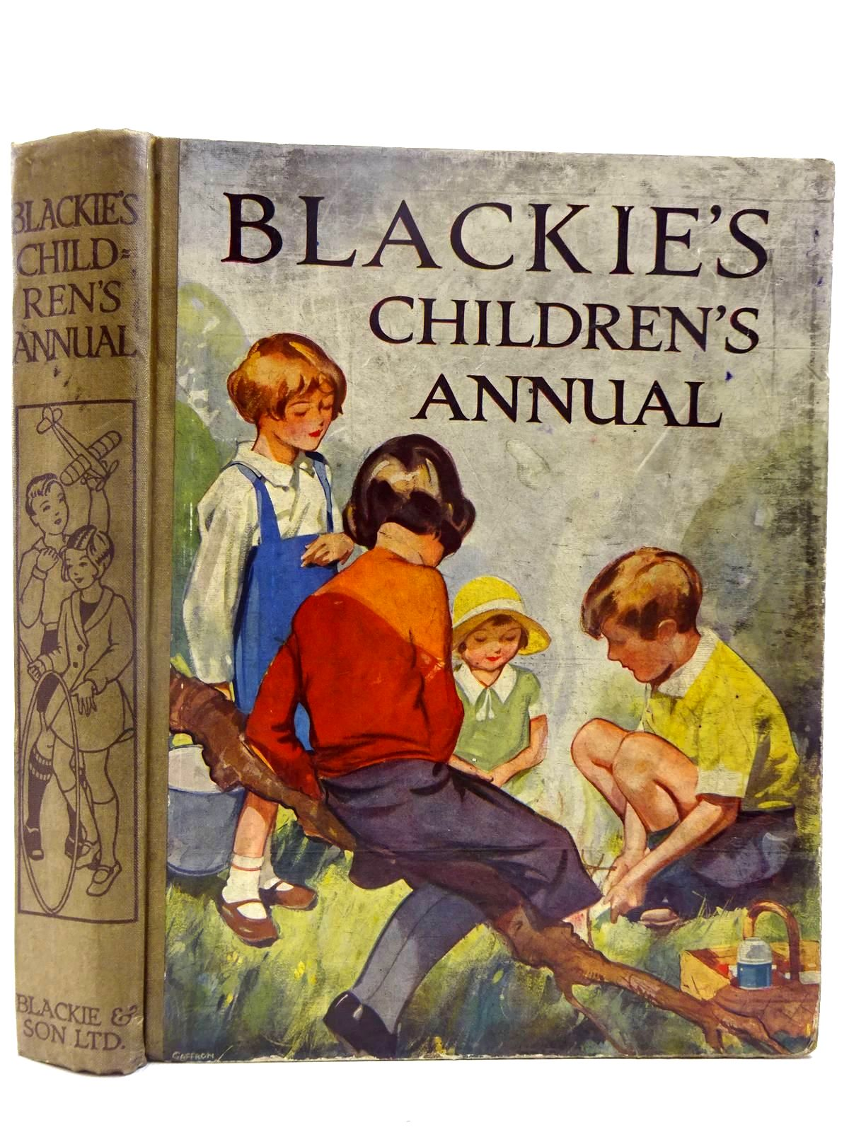 Photo of BLACKIE'S CHILDREN'S ANNUAL 31ST YEAR written by Freeman, Barbara C.<br />Hunter, Norman<br />Ainsworth, Ruth<br />et al, illustrated by Rountree, Harry<br />Barker, Cicely Mary<br />Fraser, Peter<br />Harrow, Kenneth<br />et al., published by Blackie & Son Ltd. (STOCK CODE: 2128131)  for sale by Stella & Rose's Books